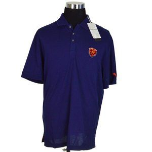 NEW Tommy Bahama Mens Shirt XL Navy NFL Clubhouse